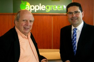 Jonathan Irwin & Joe Barett from Applegreen