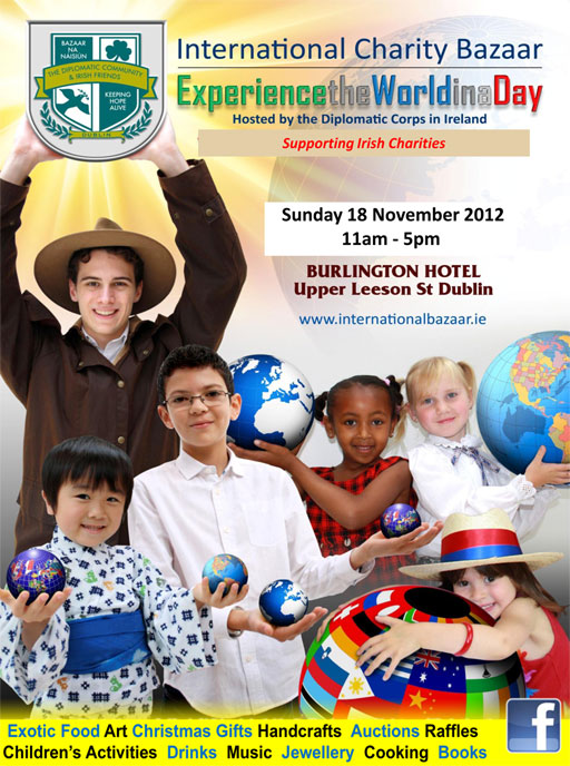 International Charity Bazaar - Experience the world in a day