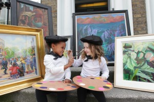 Standard Life donates its art collection and its staff raise100,000 for Jack and Jill