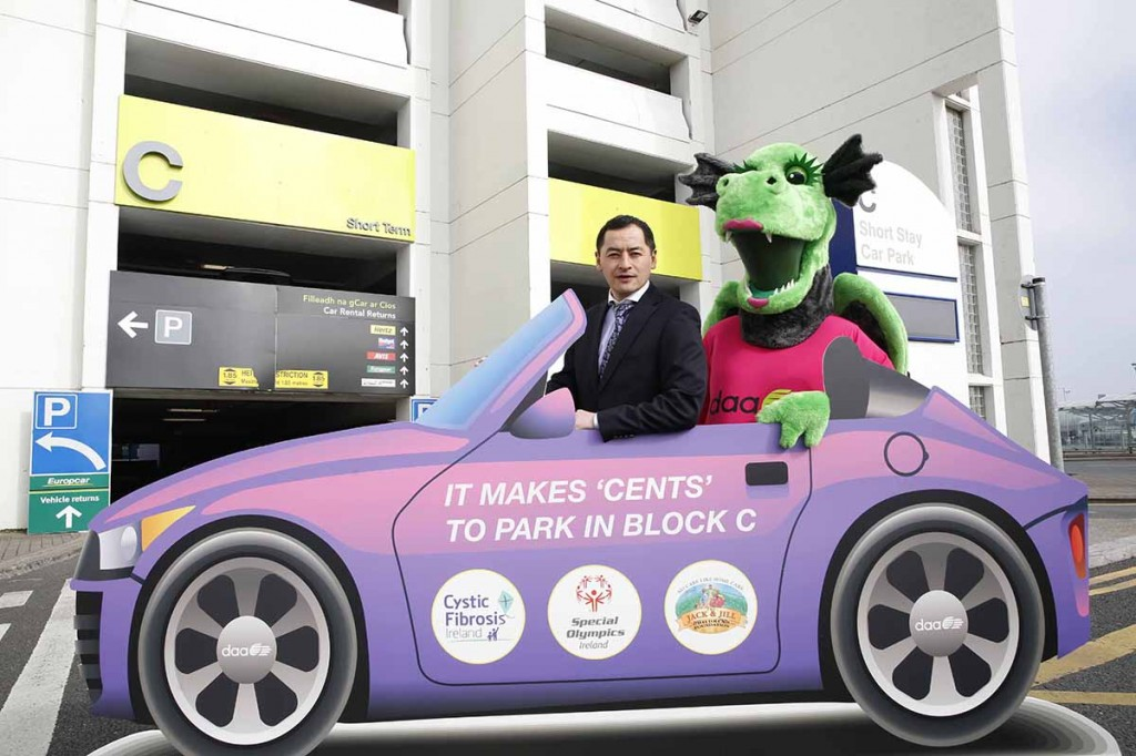 Make Cents For Charity When Parking At Dublin Airport