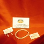 First Communion Gift Set: Bracelet + Earings