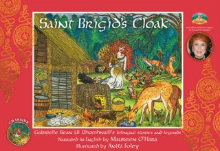 St Brigid's Cloak – Illustrated Book + CD