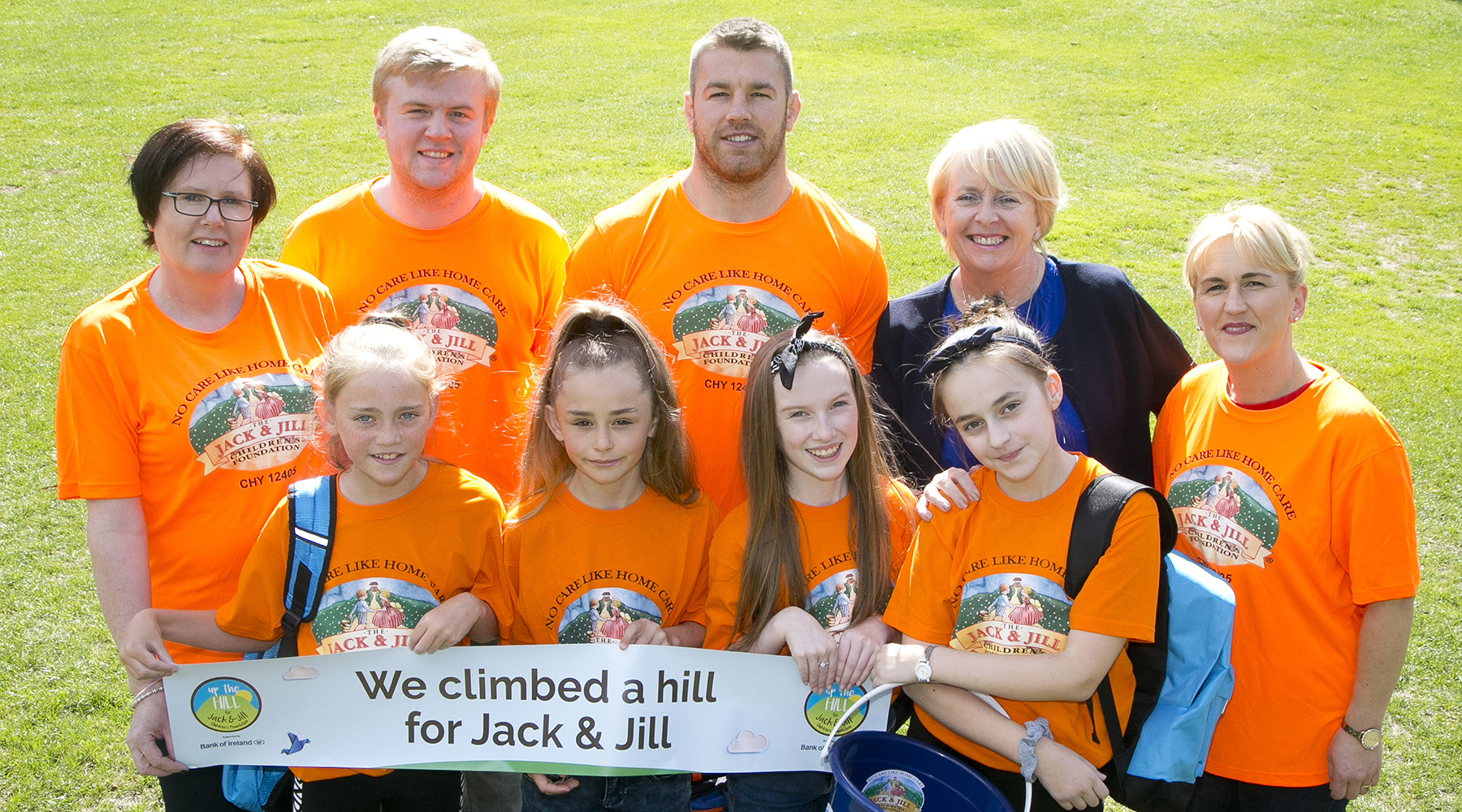 Sean O'Brien and the Jack and Jill team