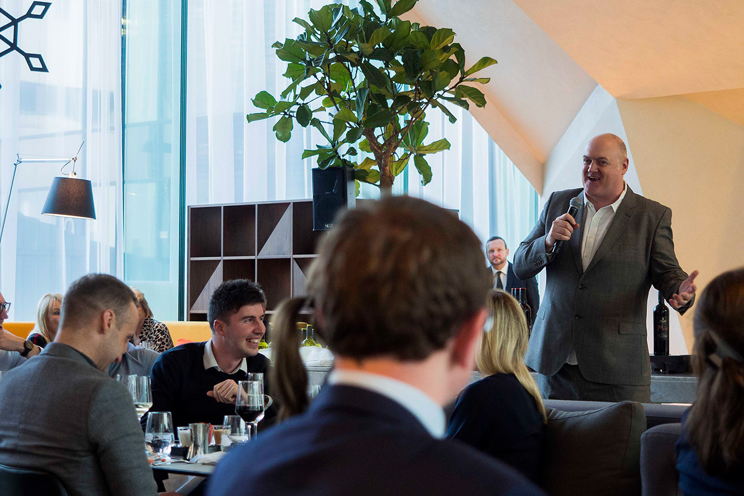 Dara O'Briain at the Jack & Jill event