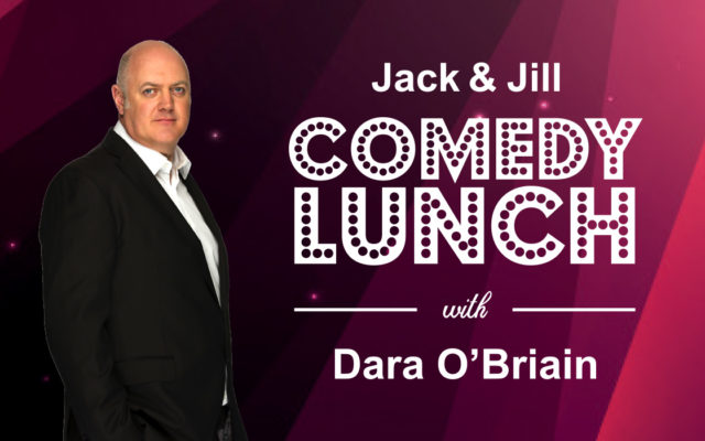 Dara O'Briain Comedy Lunch Featured