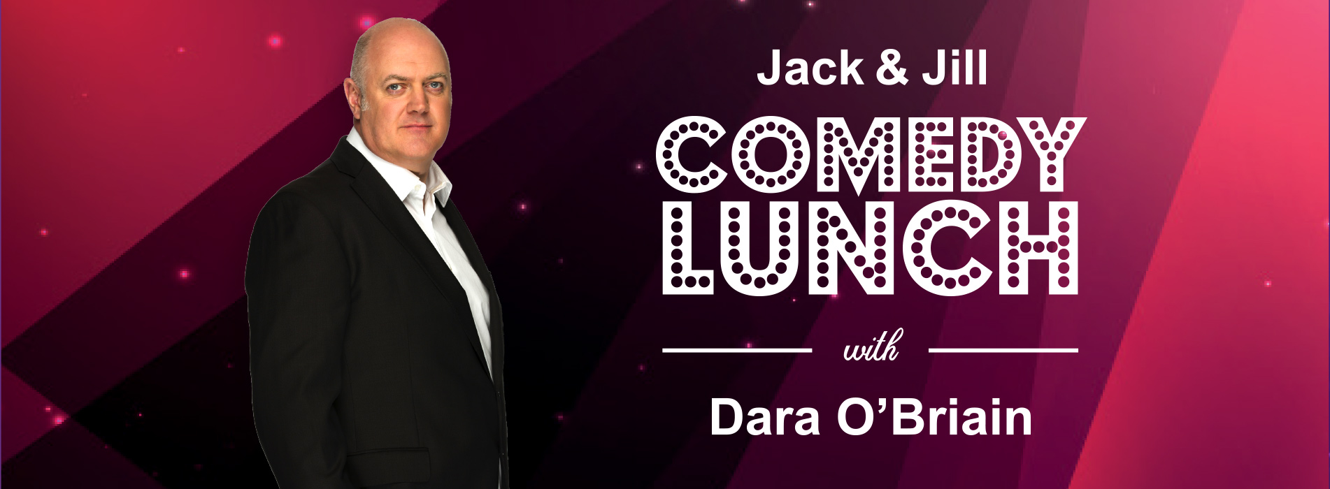 Dara O'Briain Comedy Lunch