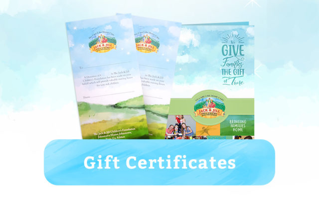 Gift Certificates Featured