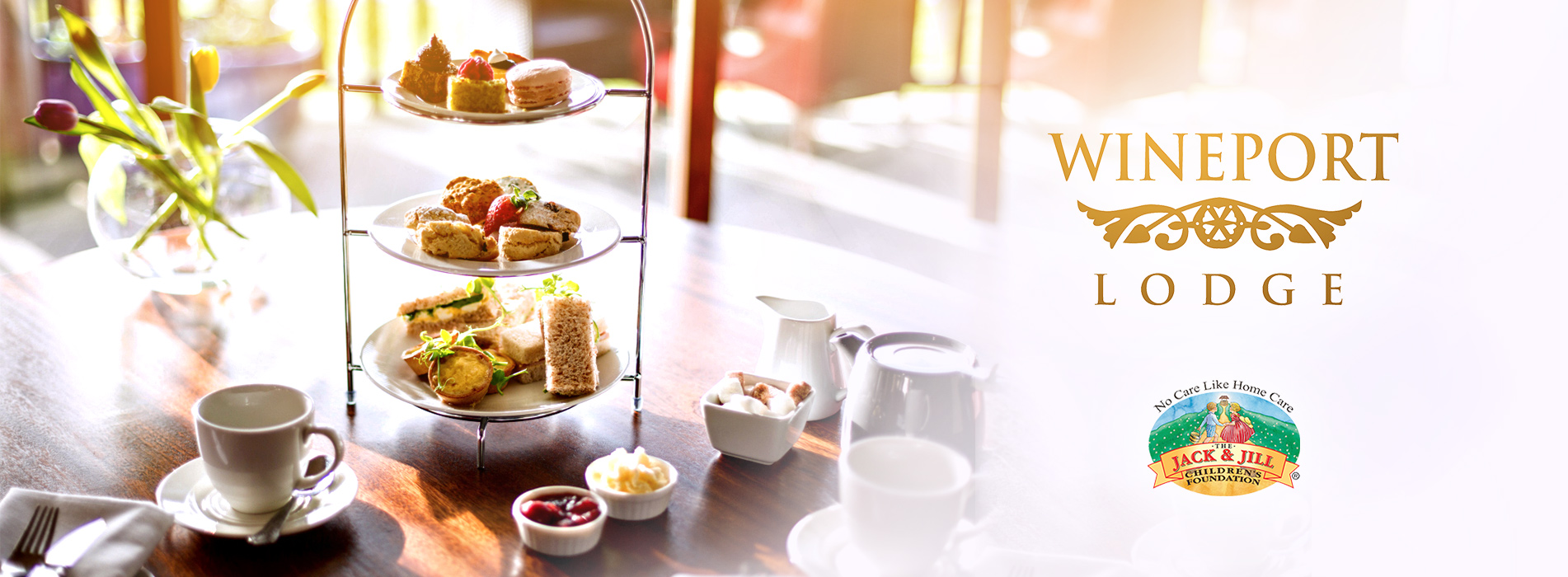 Wineport Lodge Afternoon Tea banner