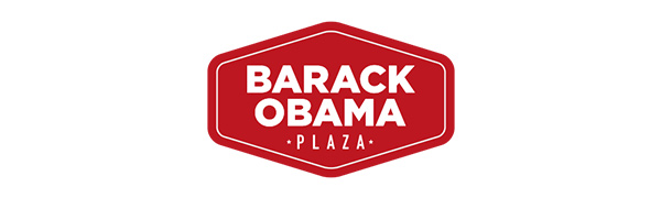 Barack Obama Plaza logo