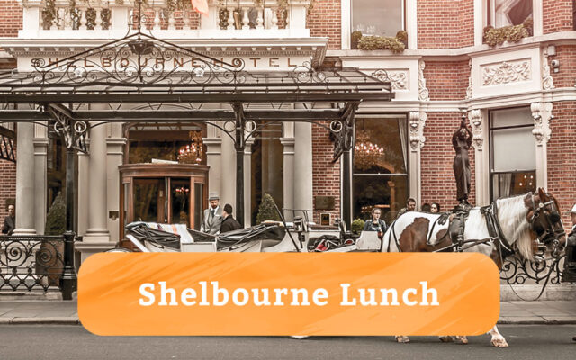 Lunch at the Shelbourne Hotel