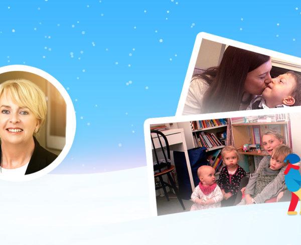 Jack & Jill CEO Carmel Doyle Christmas message