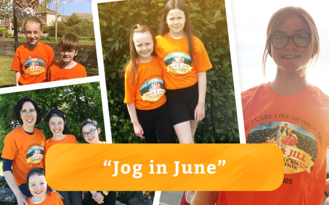 Jog in June for Jack & Jill