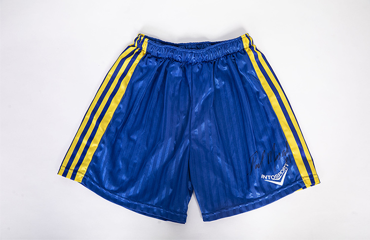 Connell's GAA shorts from Normal People signed by Paul Mescal