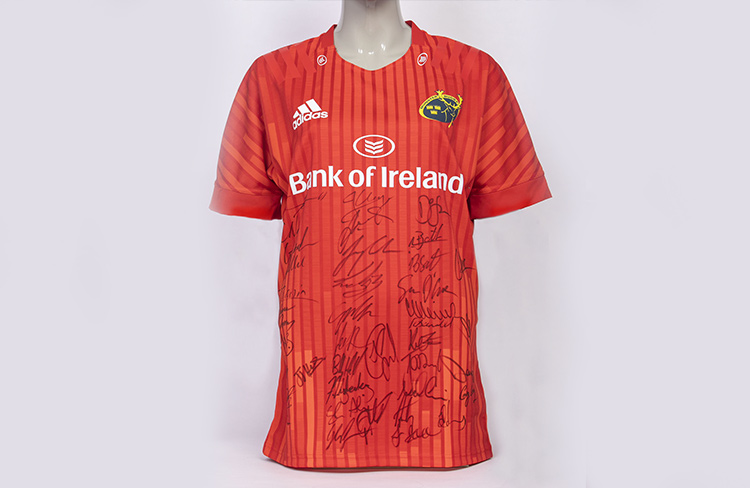 Munster Rugby signed jersey