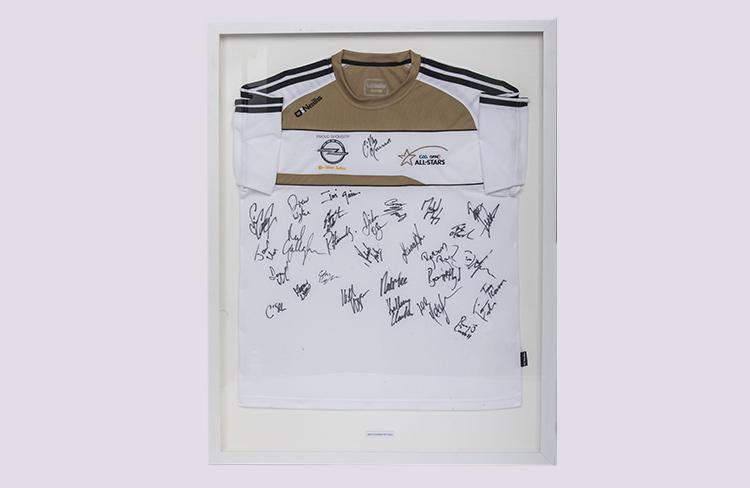 All star GAA jersey framed