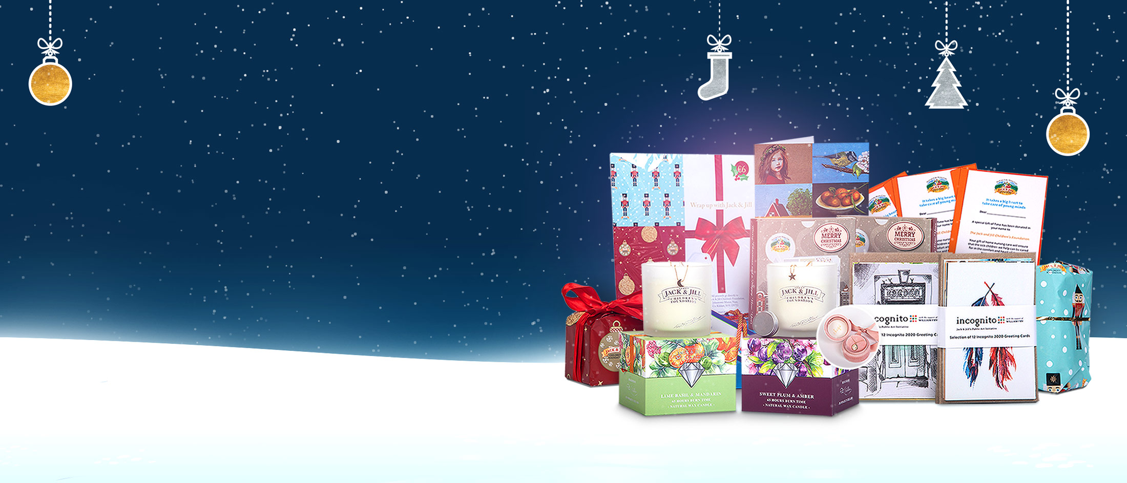 Choose a Jack & Jill gift this Christmas and help keep our children at home