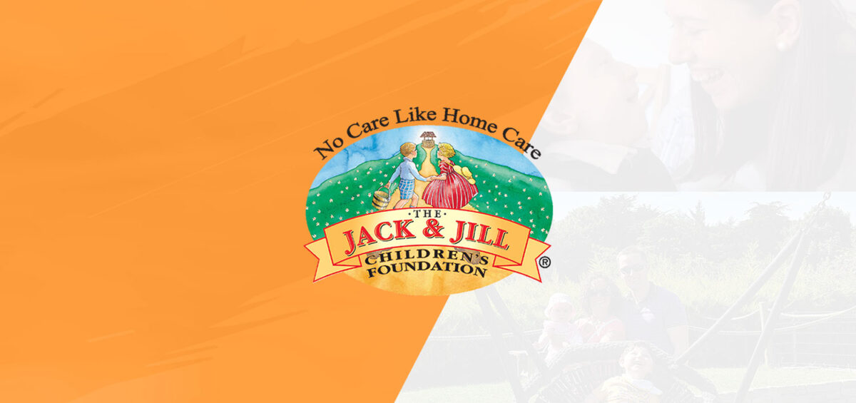 Jack & Jill post with logo