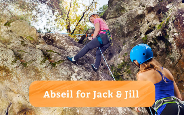 Abseil for Jack & Jill