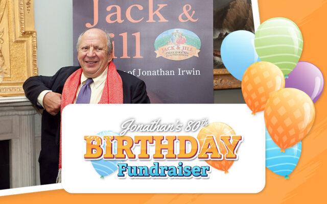 Jonathan Irwin 80th birthday fundraiser