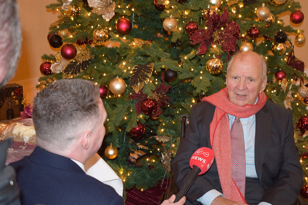Jonathan interviewed By Paul Quinn of Virgin Medina News in 2019