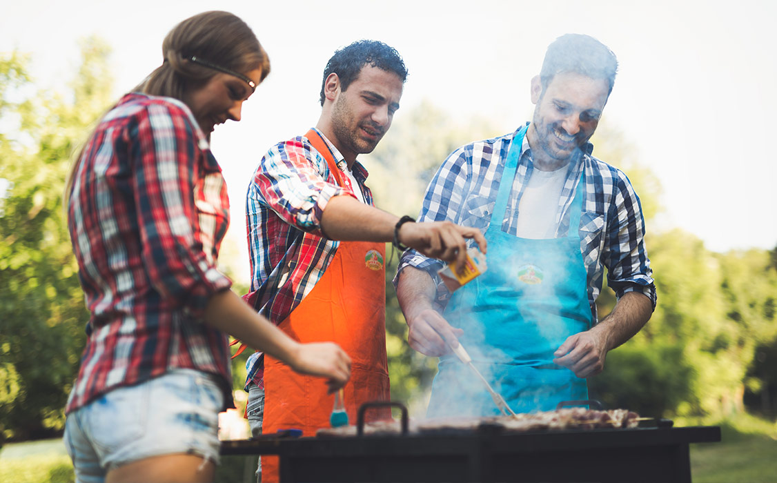 BBQ event for Jack & Jill