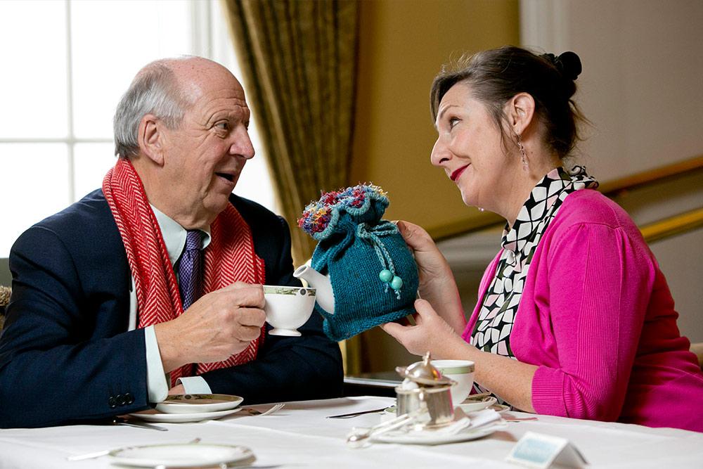 jonathan irwin with Pauline McLynn