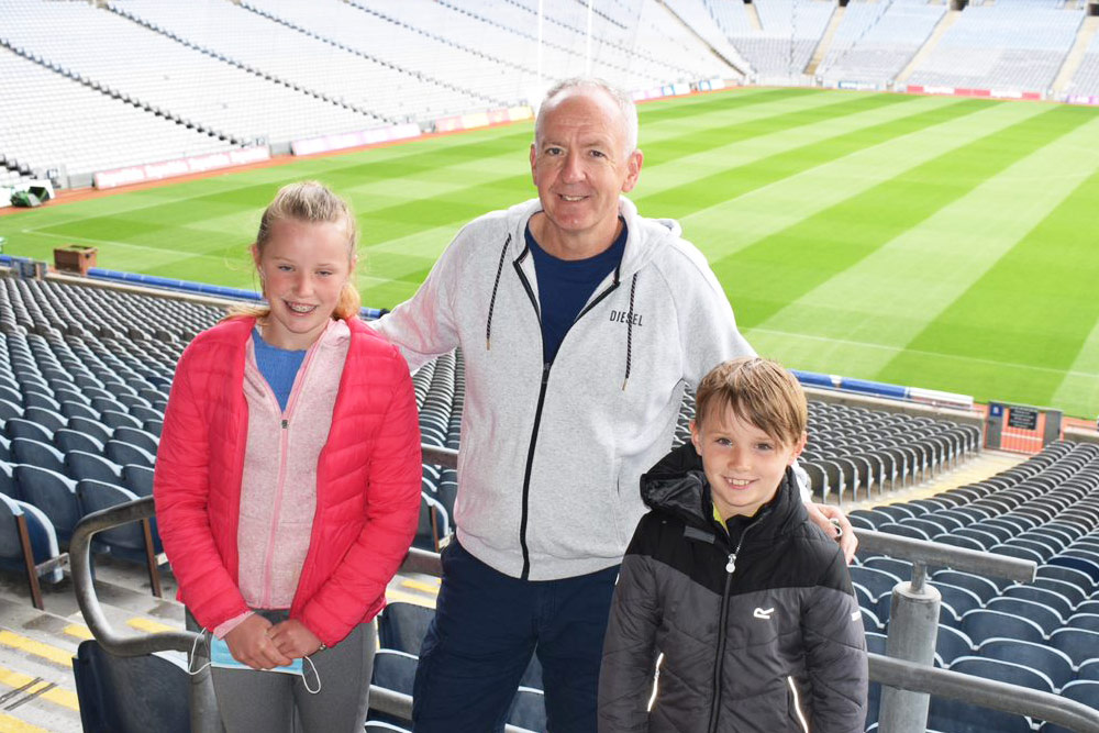 Michael Walsh & Family