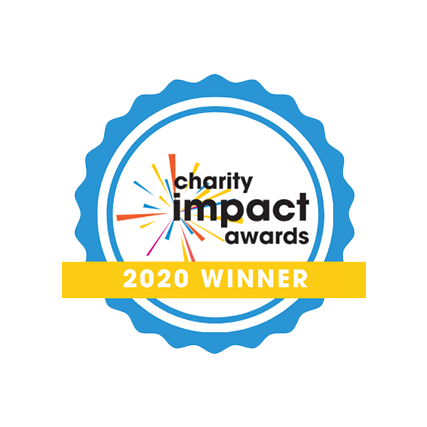 Charities Impact Awards 2020 winner