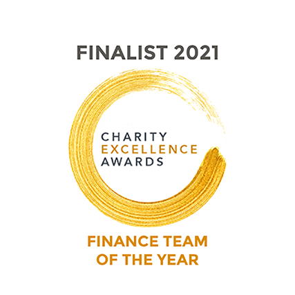Charity Excellence Awards Finance Team